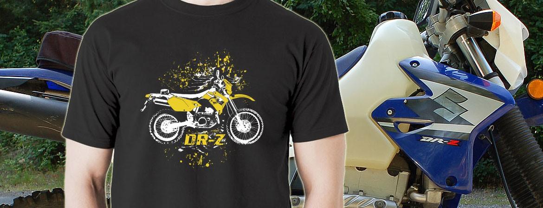 koszulka męska suzuki drz-400